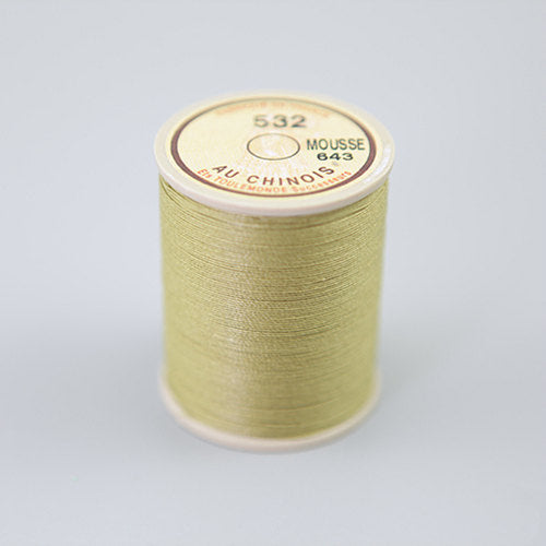 Leather Working Tools Sajou Fil Au Chinois Waxed Cable Linen Threads Size 532 -50g Spool Cable Linen Cord Corded - LeatherMob