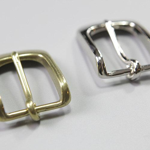 30mm Solid Brass Strap Buckles Nickel Finish Belt Seiwa Japan LeatherMob Leathercraft Leather