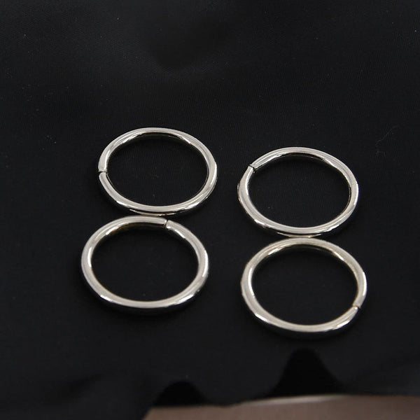 21mm O Rings Wire Loops Purse Handbag Bag Making Hardware Supplies Leathercraft Leather Craft