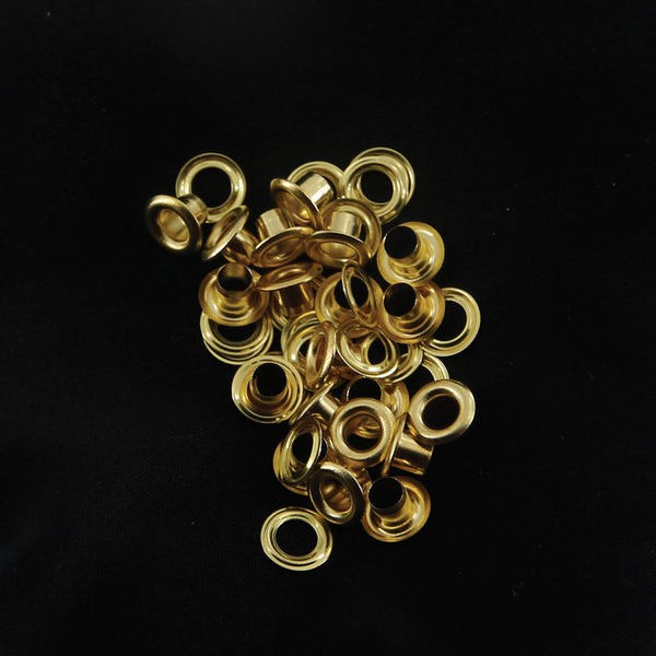 Leather Working Tools 7.7mm Eyelets Grommets LeatherMob Leathercraft Leather Craft Tool Hardware - LeatherMob