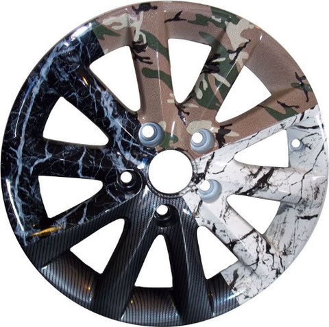 Hydro Dipped Water Transfer Water Printed Custom Alloy Wheels