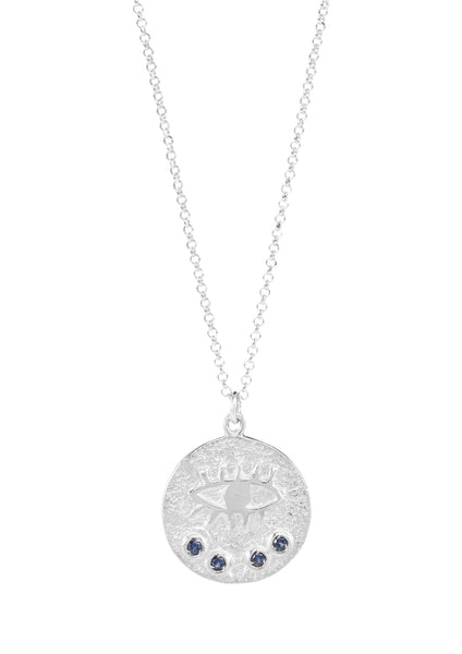 Kressida Small Medallion - Sterling Silver