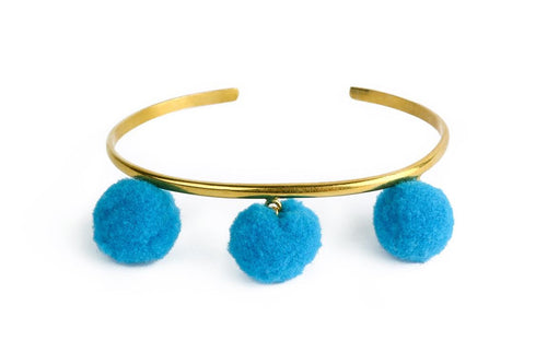 Anna Cuff- Turquoise (Gold or Silver)