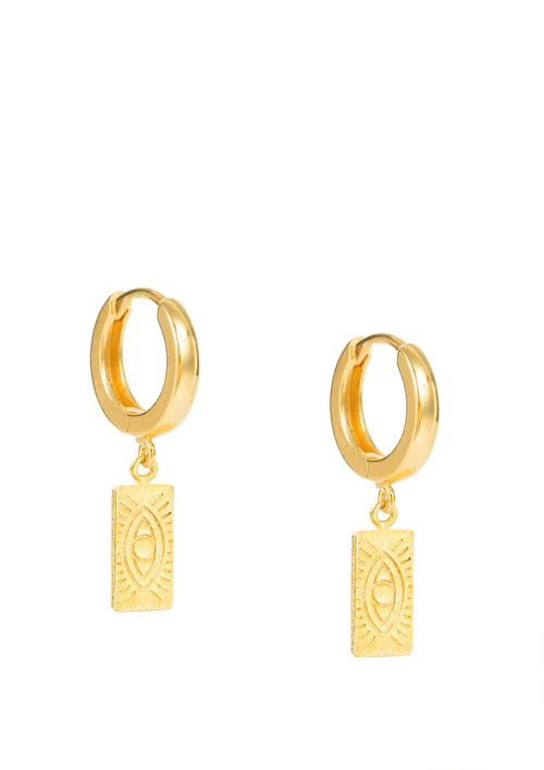 Delian gold earrings (pair or single)