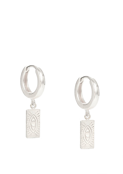 Delian silver earrings (pair or single)