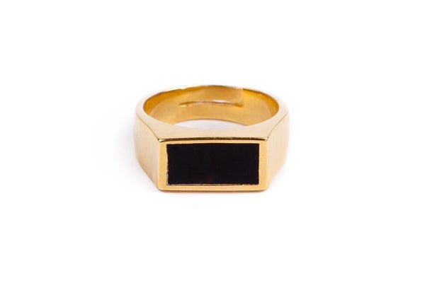 Khaand Ring with Enamel (Silver or Gold)