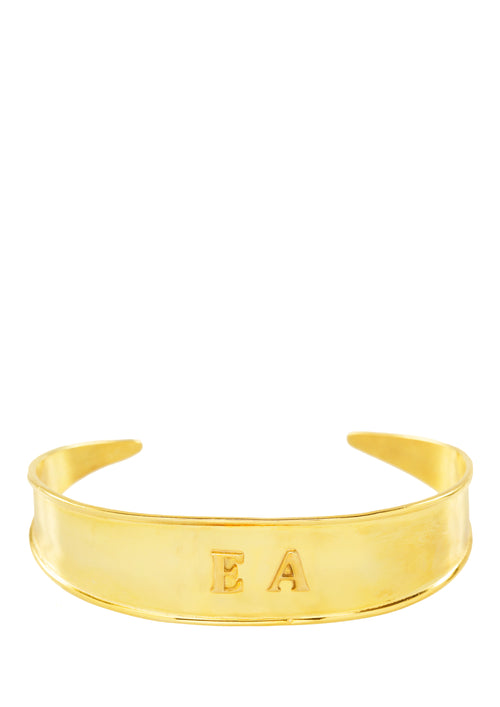 Greek Monogram Wristband