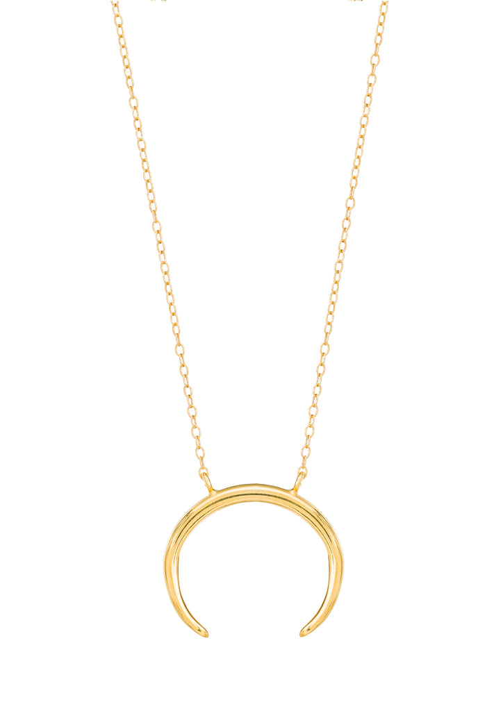 products pendant necklace long vermeil tusk shop