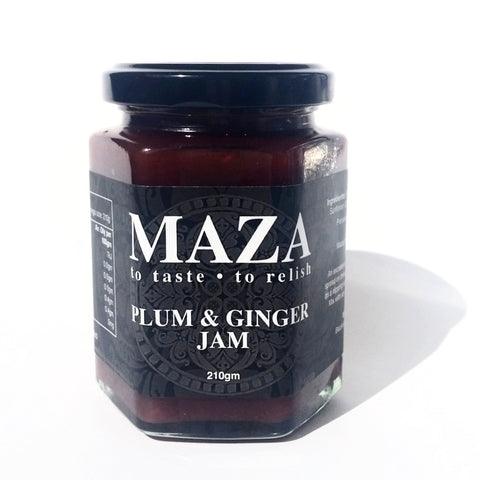Plum & Ginger Jam 210g