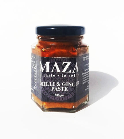 Chilli & Ginger Paste 100g