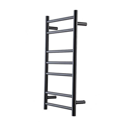 HEIRLOOM GENESIS NERO HEATED TOWEL LADDER 825X450MM BLACK