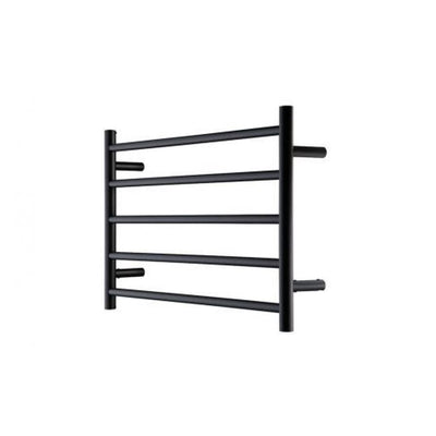 HEIRLOOM GENESIS NERO HEATED TOWEL LADDER 510X850MM BLACK