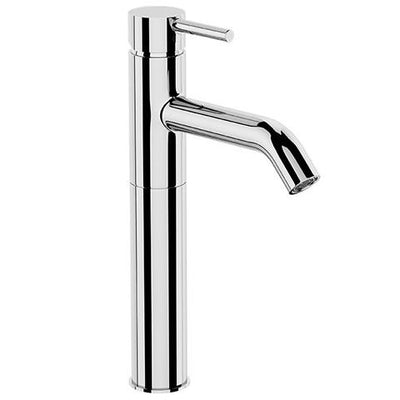 UNO EXTENDED HEIGHT BASIN MIXER CURVED SPOUT CHROME