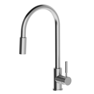 GREENS ALFRESCO PULL DOWN SINK MIXER STAINLESS STEEL