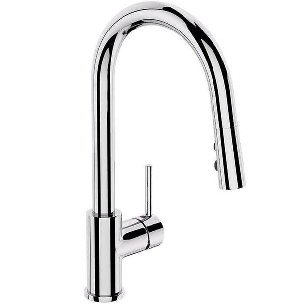 ELEMENTI UNO GOOSE NECK PULL OUT KITCHEN MIXER
