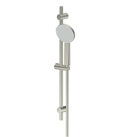 GLIDE RAINBOOST RAIL SHOWER BRUSHED NICKEL