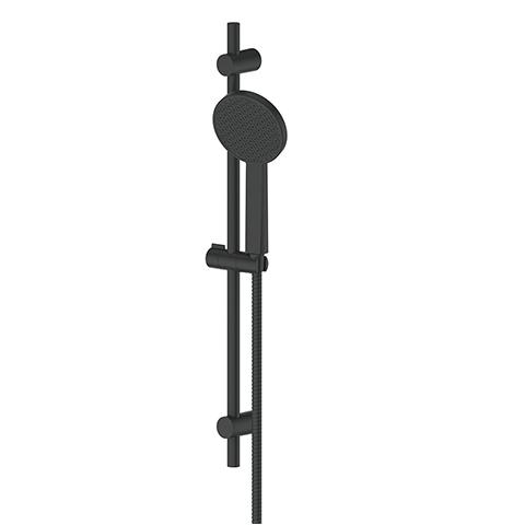 GLIDE RAINBOOST RAIL SHOWER MATTE BLACK
