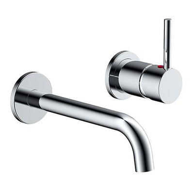 UNO WALL MOUNTED BASIN MIXER CHROME