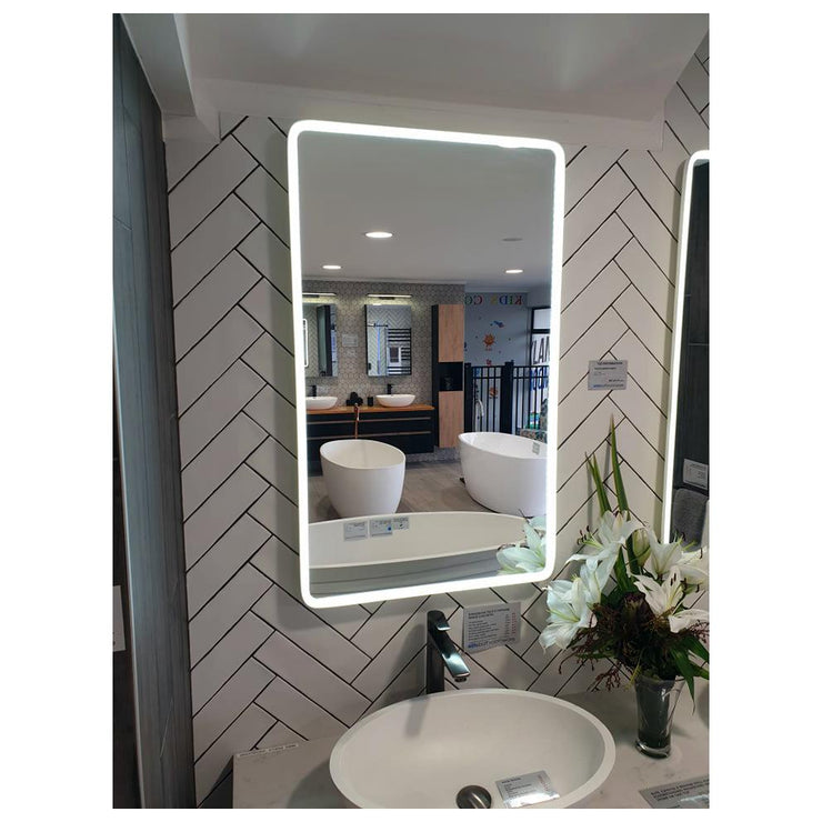 ELITE NEO RECTANGLE LED WHITE FRAMED MIRROR 1000X600MM