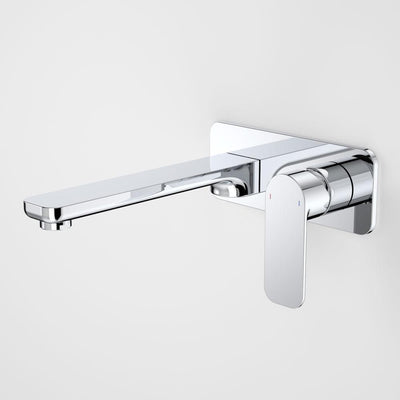 CAROMA LUNA WALLMOUNT BASIN/BATH MIXER CHROME