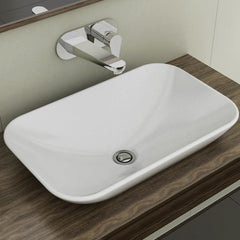 CAROMA GEM INSET BASIN 530X330X70MM