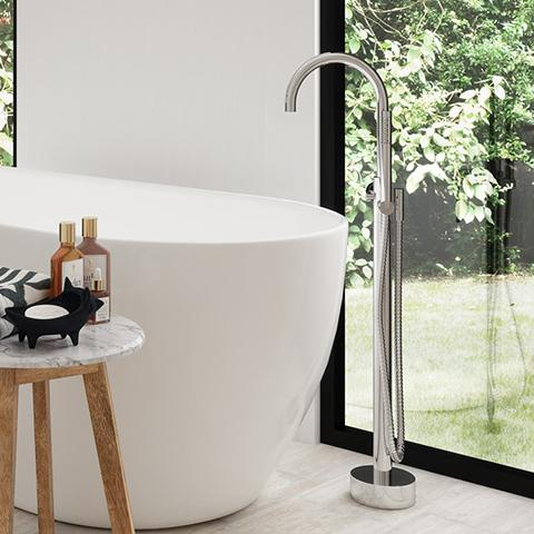 ELEMENTI UNO FREESTANDING BATH FILLER DISPLAY