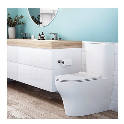 CYGNET HYGIENE SQ CISTERN CC BTW TOILET SUITE SOFT CLOSE