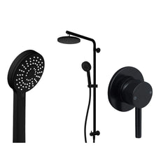 ELEMENTI CARBON SHOWER SET PACKAGE