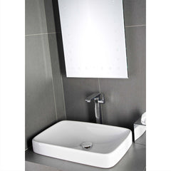 BAGNO DESIGN DREAM INSET/VESSEL BASIN 595 X 375MM NTH - 2 ONLY!