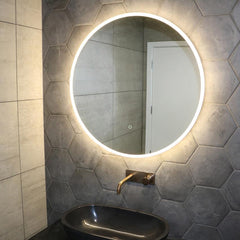 ECLISSE ROUND LED MIRROR - 2 SIZES
