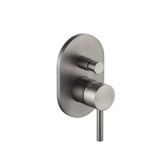 INDUSTRY SHOWER DIVERTER MIXER - GUNMETAL