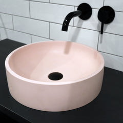 ICONIC CONCRETE HALO BASIN - ASSORTED COLOURS