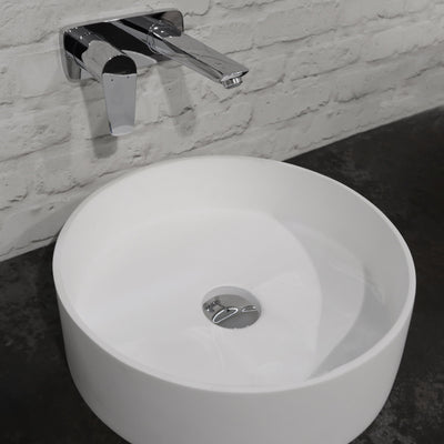 MATTE WHITE VESSEL BASIN