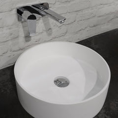 ELITE HALO ROUND BASIN 380X110MM - 3 COLOURS