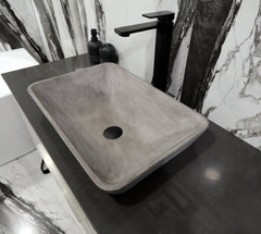 ICONIC CONCRETE INSET BASIN - ASSORTED COLOURS
