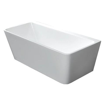 INDUS 1500MM BTW BATH GLOSS WHITE