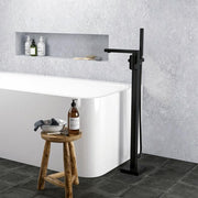 ELEMENTI ION FLOOR MOUNTED BATH FILLER WITH HANDSPRAY - 4 COLOURS