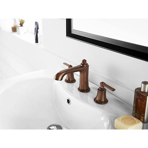 LIBERTY 3 HOLE BASIN MIXER - 2 COLOURS