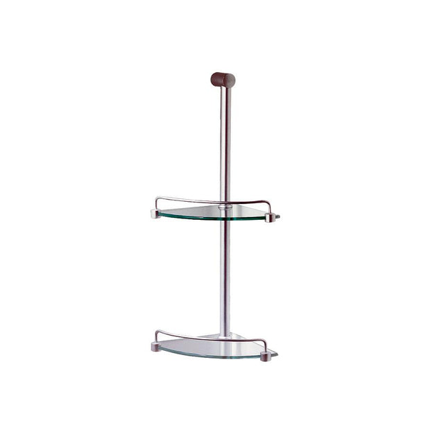 PROGETTO GLASS 2 TIER SHOWER CADDY