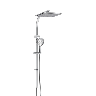 SWEPT AIRFLOW TWIN RAIL SHOWER - 3 COLOURS
