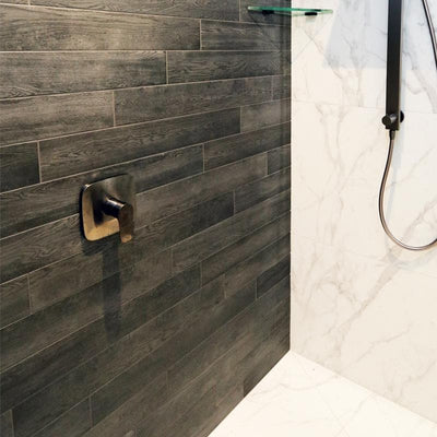HANSGROHE TALIS E SHOWER MIXER WITH IBOX GUNMETAL
