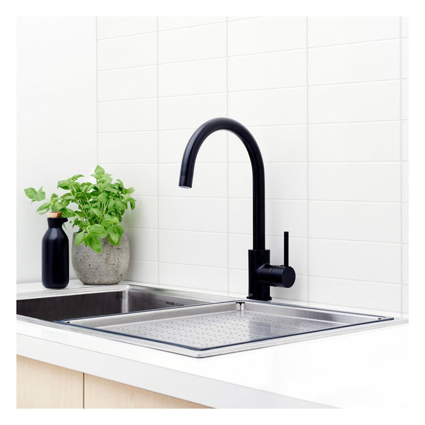 CAROMA POSEIDON SINK MIXER BLACK