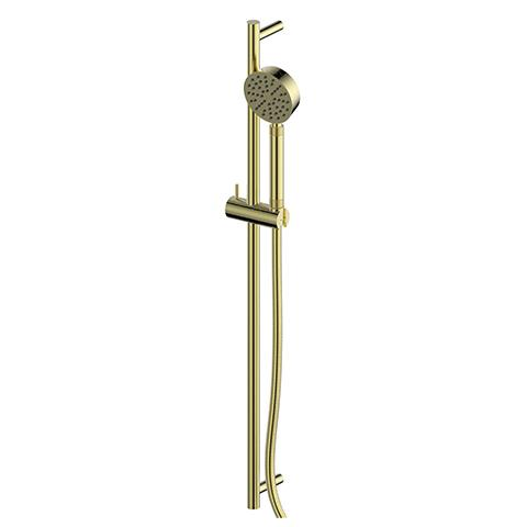 TEXTURA SLIDE SHOWER BRUSHED BRASS