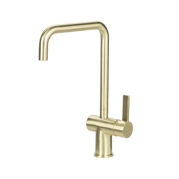URBAN U SPOUT KITCHEN MIXER BRUSHED GOLD