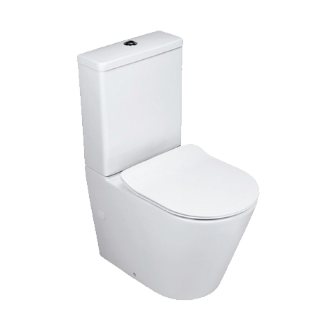Caroma Luna Cleanflush Btw Toilet Suite Elite Bathroomware