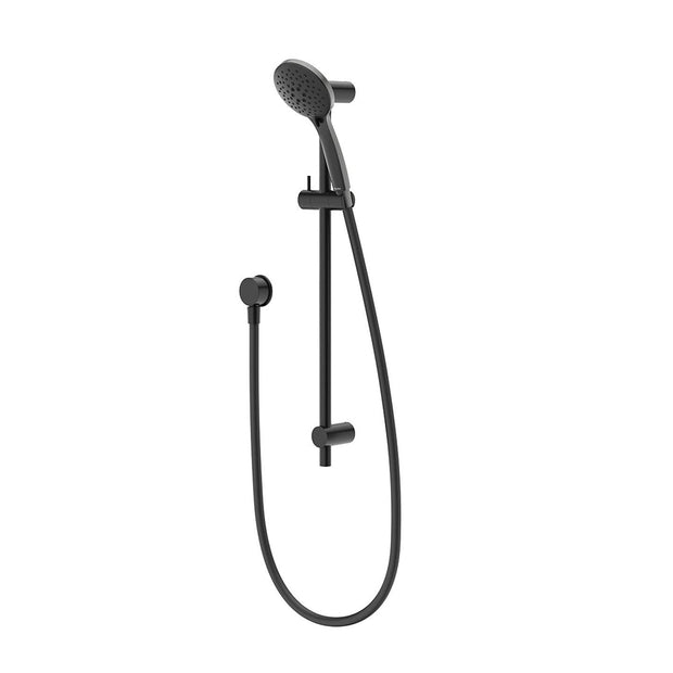 METHVEN WAIRERE SLIDE SHOWER BLACK