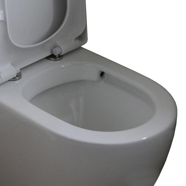 PLUMBLINE ELITE ZEN RIMLESS BTW TOILET SUITE