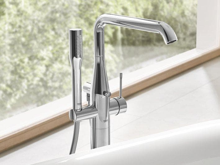 GROHE ESSENCE FLOOR MOUNT BATH/SHOWER FILLER - 5 COLOURS