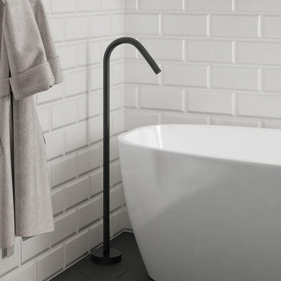 ELEMENTI UNO FLOOR MOUNTED BATH SPOUT