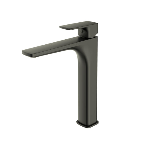 CODE TALL BASIN MIXER GUNMETAL